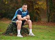 27 November 2017; Andrew Porter poses for a portrait following a Leinster Rugby press conference at Leinster Rugby Headquarters in Dublin. Photo by Seb Daly/Sportsfile
