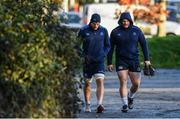 28 November 2017; Jordi Murphy, left, and Jack McGrath during Leinster rugby squad training at UCD in Dublin. Photo by Ramsey Cardy/Sportsfile