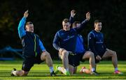 28 November 2017; Andrew Porter during Leinster rugby squad training at UCD in Dublin. Photo by Ramsey Cardy/Sportsfile