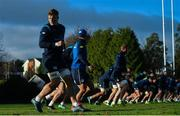 28 November 2017; Josh van der Flier during Leinster rugby squad training at UCD in Dublin. Photo by Ramsey Cardy/Sportsfile