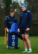 28 November 2017; Sean McNulty during Leinster rugby squad training at UCD in Dublin. Photo by Ramsey Cardy/Sportsfile