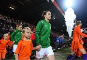 28 November 2017; Karen Duggan of Republic of Ireland during the 2019 FIFA Women's World Cup Qualifier match between Netherlands and Republic of Ireland at Stadion de Goffert in Nijmegen, Netherlands. Photo by Stephen McCarthy/Sportsfile