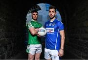 4 December 2017; Daryl Flynn of Moorefield, left, and Paul Sharry of St Loman's ahead of the AIB Leinster GAA Senior Club Football Championship Final on Sunday December 10th. For exclusive content and behind the scenes action throughout the AIB GAA & Camogie Club Championships follow AIB GAA on Facebook, Twitter, Instagram and Snapchat. Croke Park, Dublin. Photo by Brendan Moran/Sportsfile