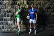 4 December 2017; Paul Sharry of St Loman's, right, and Daryl Flynn of Moorefield ahead of the AIB Leinster GAA Senior Club Football Championship Final on Sunday December 10th. For exclusive content and behind the scenes action throughout the AIB GAA & Camogie Club Championships follow AIB GAA on Facebook, Twitter, Instagram and Snapchat. Croke Park, Dublin. Photo by Brendan Moran/Sportsfile