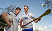 1 December 2017; Waterford footballer Conor Murray, left, with Waterford hurler Maurice Shanahan in attendance at the Waterford GAA new sponsorship launch at TQS Integration Systems in Lismore, Waterford. Photo by Matt Browne/Sportsfile
