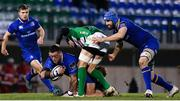 2 December 2017; Andrew Porter of Leinster is tackled by Alessandro Zanni of Benetton during the Guinness PRO14 Round 10 match between Benetton and Leinster at the Stadio Comunale di Monigo in Treviso, Italy. Photo by Ramsey Cardy/Sportsfile