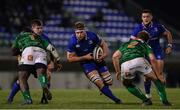 2 December 2017; Jordi Murphy of Leinster breaks through the Benetton defence on his way to scoring his side's second try during the Guinness PRO14 Round 10 match between Benetton and Leinster at the Stadio Comunale di Monigo in Treviso, Italy. Photo by Ramsey Cardy/Sportsfile