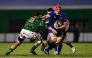 2 December 2017; Josh van der Flier of Leinster is tackled by Whetu Douglas of Benetton during the Guinness PRO14 Round 10 match between Benetton and Leinster at the Stadio Comunale di Monigo in Treviso, Italy. Photo by Ramsey Cardy/Sportsfile