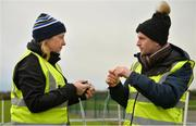 3 December 2017; Volunteers Karin Davy and Brian Donovan, both from Swords, ahead of the run. parkrun Ireland in partnership with Vhi, expanded their range of junior events to thirteen with the introduction of the Holywell junior parkrun on Sunday, December 3rd. Junior parkruns are 2km long and cater for 4 to 14 year olds, free of charge providing a fun and safe environment for children to enjoy exercise. To register for a parkrun near you visit www.parkrun.ie. Photo by Cody Glenn/Sportsfile