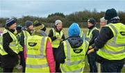 3 December 2017; Volunteers ahead of the run. parkrun Ireland in partnership with Vhi, expanded their range of junior events to thirteen with the introduction of the Holywell junior parkrun on Sunday, December 3rd. Junior parkruns are 2km long and cater for 4 to 14 year olds, free of charge providing a fun and safe environment for children to enjoy exercise. To register for a parkrun near you visit www.parkrun.ie. Photo by Cody Glenn/Sportsfile