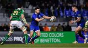 2 December 2017; Ross Byrne, left, and Andrew Porter of Leinster during the Guinness PRO14 Round 10 match between Benetton and Leinster at the Stadio Comunale di Monigo in Treviso, Italy. Photo by Ramsey Cardy/Sportsfile
