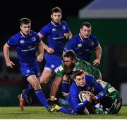 2 December 2017; Garry Ringrose of Leinster during the Guinness PRO14 Round 10 match between Benetton and Leinster at the Stadio Comunale di Monigo in Treviso, Italy. Photo by Ramsey Cardy/Sportsfile