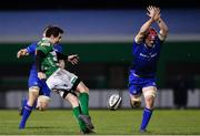 2 December 2017; Marty Banks of Benetton in action against Josh van der Flier of Leinster during the Guinness PRO14 Round 10 match between Benetton and Leinster at the Stadio Comunale di Monigo in Treviso, Italy. Photo by Ramsey Cardy/Sportsfile