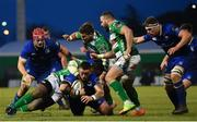 2 December 2017; Andrew Porter of Leinster is tackled by Tiziano Pasquali of Benetton during the Guinness PRO14 Round 10 match between Benetton and Leinster at the Stadio Comunale di Monigo in Treviso, Italy. Photo by Ramsey Cardy/Sportsfile