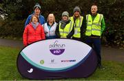 3 December 2017; Race Director Lucy Lambe with volunteers ahead of the parkrun Ireland event in Deerpark, Mount Merrion, Dublin. parkrun Ireland in partnership with Vhi, expanded their range of junior events to thirteen with the introduction of the Deerpark junior parkrun on Sunday, December 3rd. Junior parkruns are 2km long and cater for 4 to 14 year olds, free of charge providing a fun and safe environment for children to enjoy exercise. To register for a parkrun near you visit www.parkrun.ie. Photo by Brendan Moran/Sportsfile