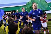 2 December 2017; Jordan Larmour of Leinster ahead of the Guinness PRO14 Round 10 match between Benetton and Leinster at the Stadio Comunale di Monigo in Treviso, Italy. Photo by Ramsey Cardy/Sportsfile