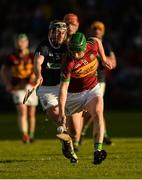 3 December 2017; Jason Grealish of Gort in action against Conor Hynes of Liam Mellows during the Galway County Senior Hurling Championship Final match between Gort and Liam Mellows at Pearse Stadium in Galway. Photo by Piaras Ó Mídheach/Sportsfile