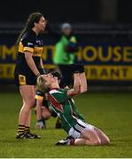 3 December 2017; Cora Staunton of Carnacon celebrates her side's victory at the final whistle during the All-Ireland Ladies Football Senior Club Senior Championship Final match between Carnacon and Mourneabbey at Parnell Park in Dublin. Photo by Seb Daly/Sportsfile