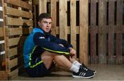 4 December 2017; Luke McGrath poses for a portrait following a Leinster rugby press conference at Leinster Rugby Headquarters in Dublin. Photo by Ramsey Cardy/Sportsfile