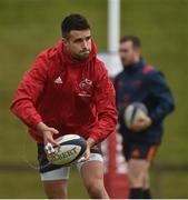 4 December 2017; Conor Murray during Munster Rugby squad training at the University of Limerick in Limerick. Photo by Diarmuid Greene/Sportsfile