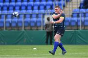 4 December 2017; Tadhg Furlong during Leinster rugby squad training at Donnybrook Stadium in Dublin. Photo by Ramsey Cardy/Sportsfile