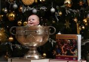 4 December 2017; In attendance at the launch of the A Season of Sundays 2017 at The Croke Park in Dublin is 4-month-old Ruben Greene, from Pallasgreen, Co Limerick. Photo by Stephen McCarthy/Sportsfile