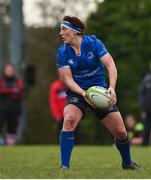 3 December 2017; Lindsay Peat of Leinster during the Women's Interprovincial Rugby match between Ulster and Leinster at Dromore RFC in Dromore, Co Antrim. Photo by David Fitzgerald/Sportsfile