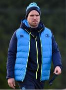 3 December 2017; Leinster head coach Adam Griggs prior to the Women's Interprovincial Rugby match between Ulster and Leinster at Dromore RFC in Dromore, Co Antrim. Photo by David Fitzgerald/Sportsfile