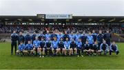 26 November 2017; The Simonstown squad before the AIB Leinster GAA Football Senior Club Championship Semi-Final match between St Loman's Mullingar and Simonstown at TEG Cusack Park in Mullingar, Co Westmeath. Photo by Piaras Ó Mídheach/Sportsfile