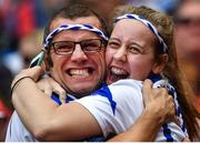 13 August 2017; Waterford supporters Pat and Molly Murphy celebrate during the GAA Hurling All-Ireland Senior Championship Semi-Final match between Cork and Waterford at Croke Park in Dublin.  Photo by Brendan Moran/Sportsfile