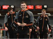 6 December 2017; Ronan Maher of Tipperary at Dublin Airport prior to departure for the PwC All Star Tour 2017 in Singapore. Photo by Seb Daly/Sportsfile
