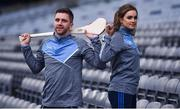 6 December 2017; Galway hurler Aidan Harte and Galway Camogie player and also Gort Community School pupil Ava Lynskey in attendance during the Future Leaders Transition Year Programme Launch at Croke Park in Dublin. Photo by David Fitzgerald/Sportsfile