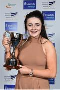 6 December 2017; Schools Athlete of the Year Michaela Walsh during the Irish Life Health National Athletics Awards 2017 at Crowne Plaza in Santry, Dublin. Photo by Sam Barnes/Sportsfile