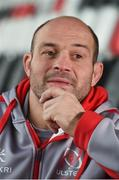 6 December 2017; Rory Best during an Ulster Rugby press conference at Kingspan Stadium in Belfast. Photo by Oliver McVeigh/Sportsfile