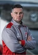 6 December 2017; John Cooney during an Ulster Rugby press conference at Kingspan Stadium in Belfast. Photo by Oliver McVeigh/Sportsfile