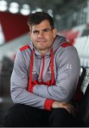 6 December 2017; Louis Ludik during an Ulster Rugby press conference at Kingspan Stadium in Belfast. Photo by Oliver McVeigh/Sportsfile