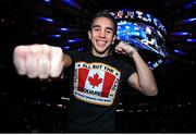 6 December 2017; Michael Conlan poses for a portrait in Madison Square Garden, New York, USA. Photo by Mikey Williams / Top Rank / Sportsfile