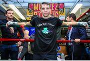 6 December 2017; Michael Conlan poses for a portrait following a media workout in the Mendez Boxing Gym in New York, USA. Photo by Mikey Williams / Top Rank / Sportsfile
