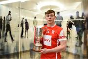 7 December 2017; In attendance at the official launch of Davy as sponsor of the Cuala Senior Hurling team is Con O'Callaghan. This partnership will see Davy support the current All-Ireland, Leinster and Dublin champions in their continued pursuit of excellence. Photo by Sam Barnes/Sportsfile