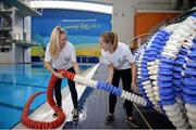 7 December 2017; Volunteers Jane Crowley, left, and Lyndsey Rankin during Para Swimming Allianz European Championships Volunteer Appeal at National Aquatic Centre in Dublin. Over 600 volunteers are needed for the Para Swimming Allianz European Championships that are being held at the National Aquatic Centre from August 13-19th 2018. Four-time Paralympian and current Paralympics Ireland President, John Fulham, urged supporters of swimming, sports and Paralympic sports to log on to www.paralympics.ie to volunteer their time.