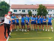 8 December 2017; Conor Cooney of Galway during a coaching session on the PwC All Star Tour 2017 at UWCSEA Dover Campus,  Dover Rd, in Singapore. Photo by Ray McManus/Sportsfile