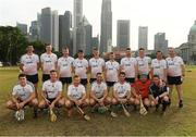 9 December 2017; The 2016 PwC All Star Team with referee Fergal Horgan before the PwC All Star Tour 2017 - All Star Hurling game at the Singapore Recreation Club, The Padang, in Singapore. Photo by Ray McManus/Sportsfile