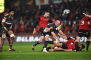 9 December 2017; Conor Murray of Munster during the European Rugby Champions Cup Pool 4 Round 3 match between Munster and Leicester Tigers at Thomond Park in Limerick. Photo by Diarmuid Greene/Sportsfile