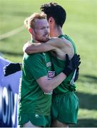 10 December 2017; Sean Tobin, left, and Hugh Armstrong of Ireland after competing in the Senior Men's event during the European Cross Country Championships 2017 at Samorin in Slovakia. Photo by Sam Barnes/Sportsfile