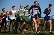 10 December 2017; Athletes, including Kevin Maunsell, centre left, and John Travers, centre right, of Ireland, competing in the Senior Men's event during the European Cross Country Championships 2017 at Samorin in Slovakia. Photo by Sam Barnes/Sportsfile