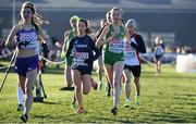 10 December 2017;  Jodie McCann of Ireland, second from right, competing in the U20 Women's event during the European Cross Country Championships 2017 at Samorin in Slovakia. Photo by Sam Barnes/Sportsfile