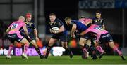 10 December 2017; Tadhg Furlong of Leinster makes a break during the European Rugby Champions Cup Pool 3 Round 3 match between Exeter Chiefs and Leinster at Sandy Park in Exeter, England. Photo by Brendan Moran/Sportsfile