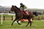 10 December 2017; All Is Well, with Jody McGarvey up, compete in the Corinthian Restaurant On Sale Now Maiden Hurdle at Punchestown Racecourse in Naas, Co Kildare. Photo by Cody Glenn/Sportsfile