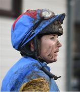 10 December 2017; Jockey Katie Walsh after competing in the Old House, Kill (Pro/Am) Flat Race on Dumhach Thra at Punchestown Racecourse in Naas, Co Kildare. Photo by Cody Glenn/Sportsfile