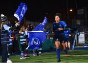 9 December 2017; Sene Naoupu of Leinster runs out ahead of the Women's Interprovincial Series match between Leinster and Connacht at Donnybrook Stadium in Dublin. Photo by David Fitzgerald/Sportsfile